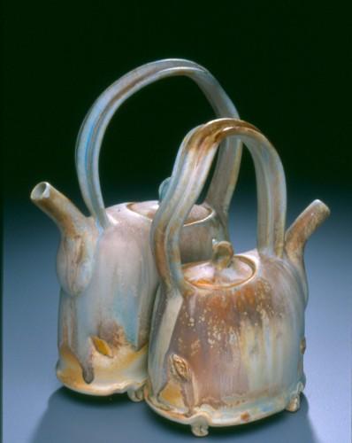 Nestled teapot