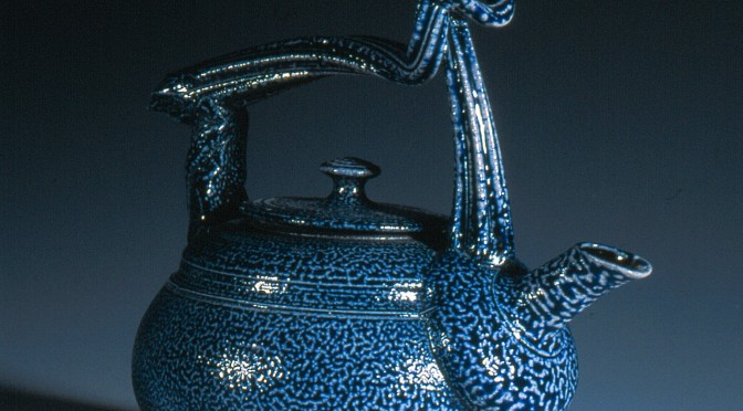 Salt Glazed Tea Pot