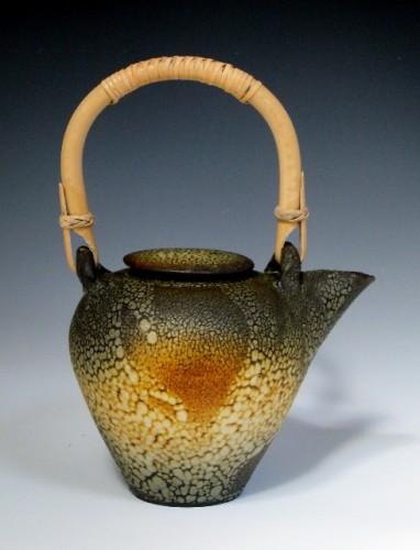 Lichen glaze teapot